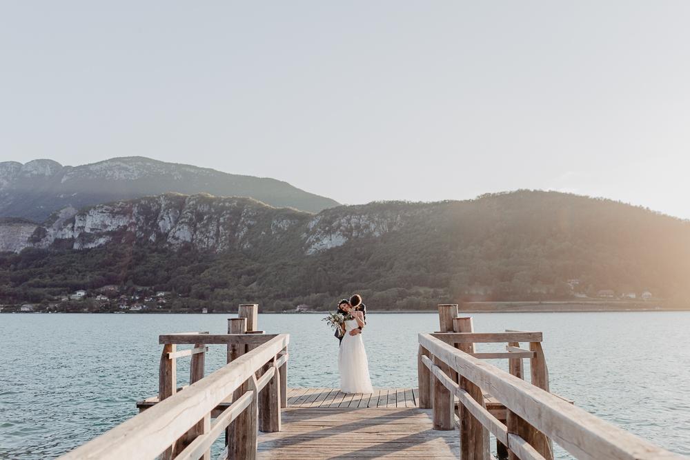 UN MARIAGE SUR ANNECY EN HAUTE SAVOIE