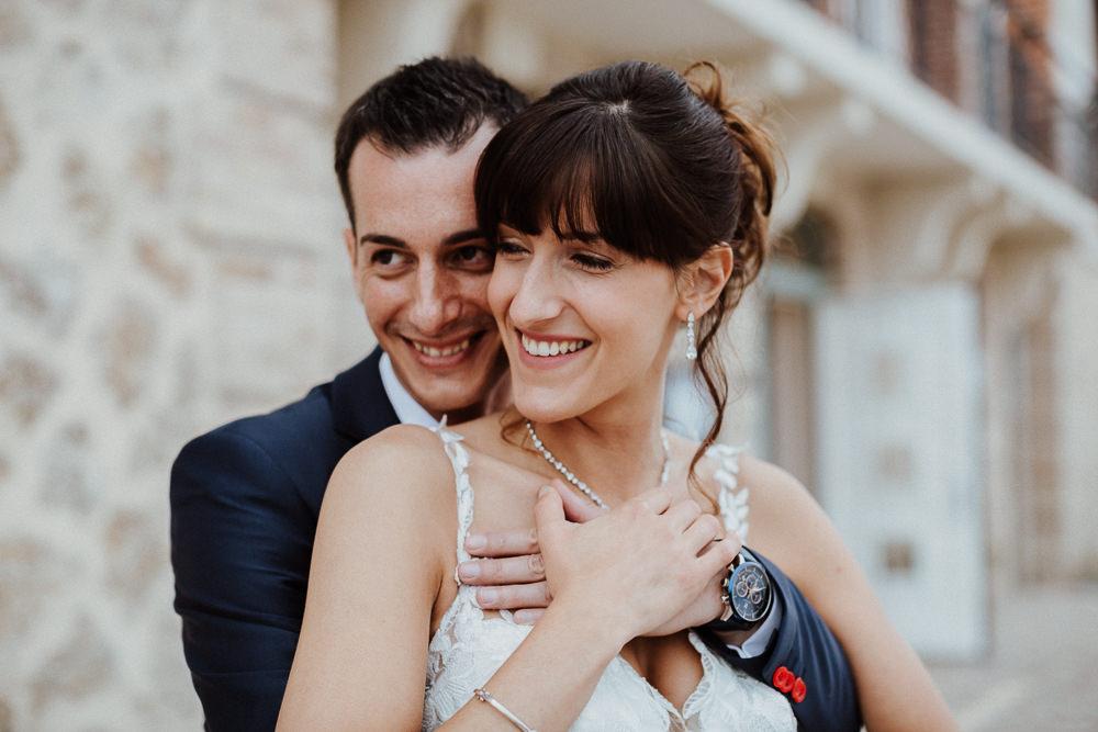 MARIAGE AU CHATEAU DE SACY - MARNE